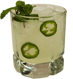 Cool Mint Margarita