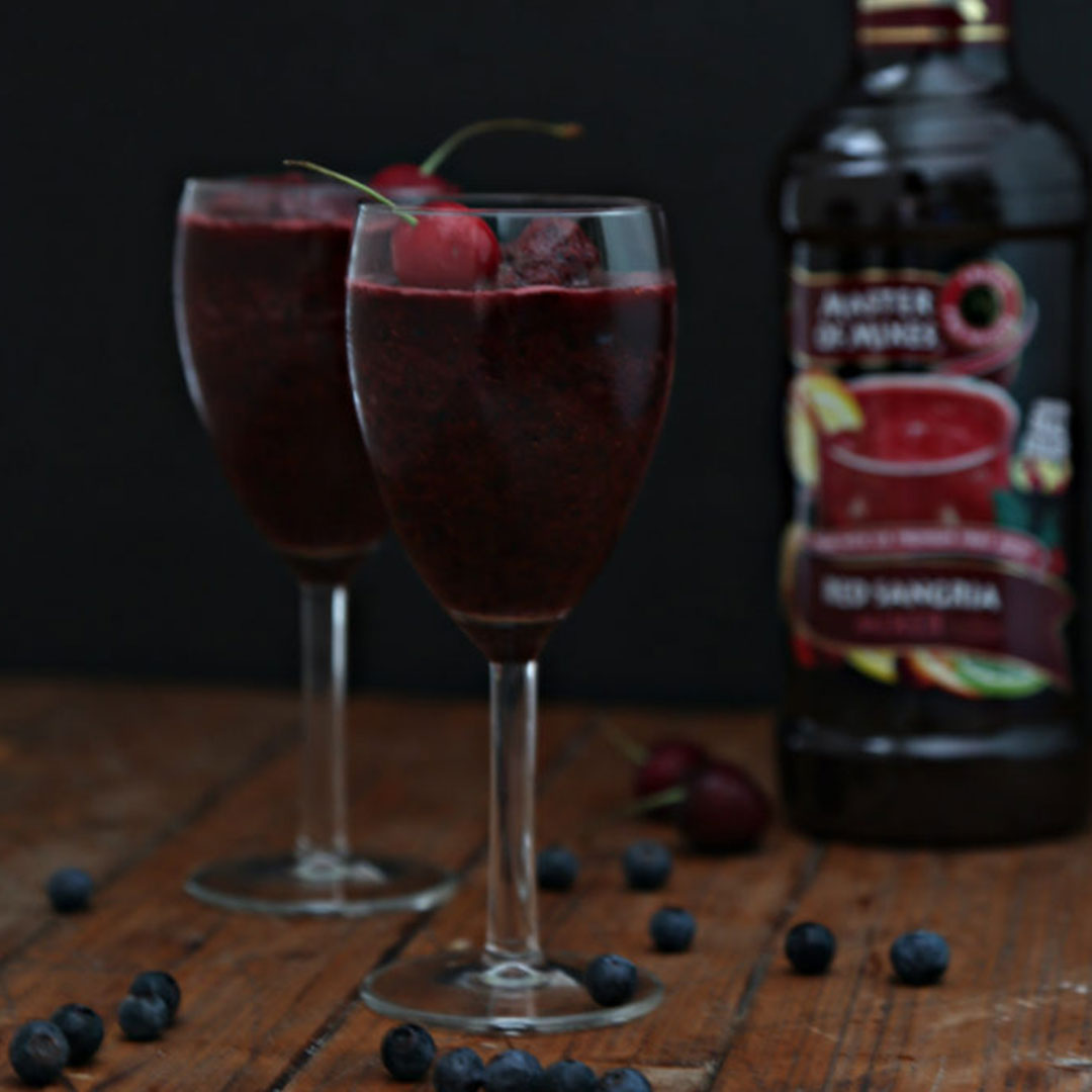 on the fifth day of christmas we made a party out of wrapping gifts with spiced holiday sangria - 12 Drinks Of Christmas