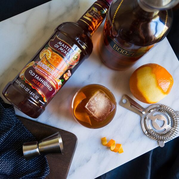 on the first day of christmas we crafted an old fashioned while we trimmed the tree - 12 Drinks Of Christmas