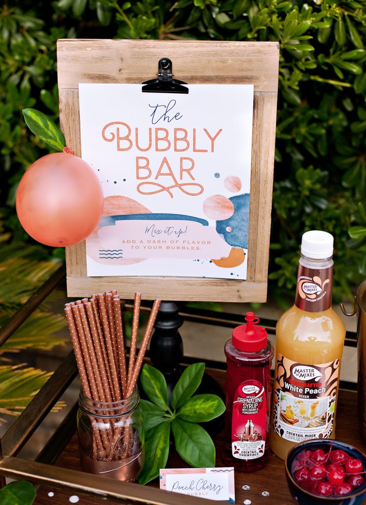 Hostess with the Mostess Bubbly Bar